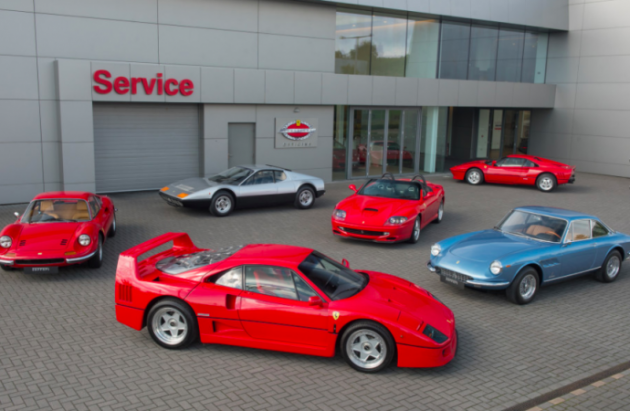 Select Ferrari Dealers Are Now Authorized To Work On Vintage Ferraris