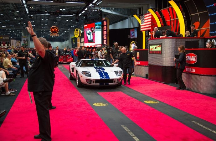 2005 Ford GT Leads The Way At Kansas City Mecum Auction