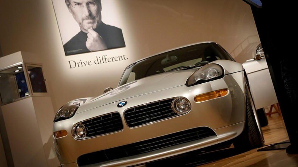 Steve Jobs' BMW Sells For $329,500