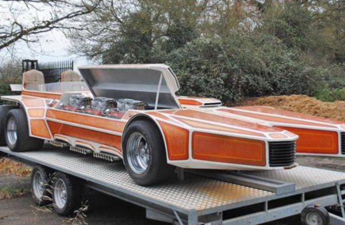 1975 SnakePit, Built By Legendary Custom Builder George Barris, Up For Sale