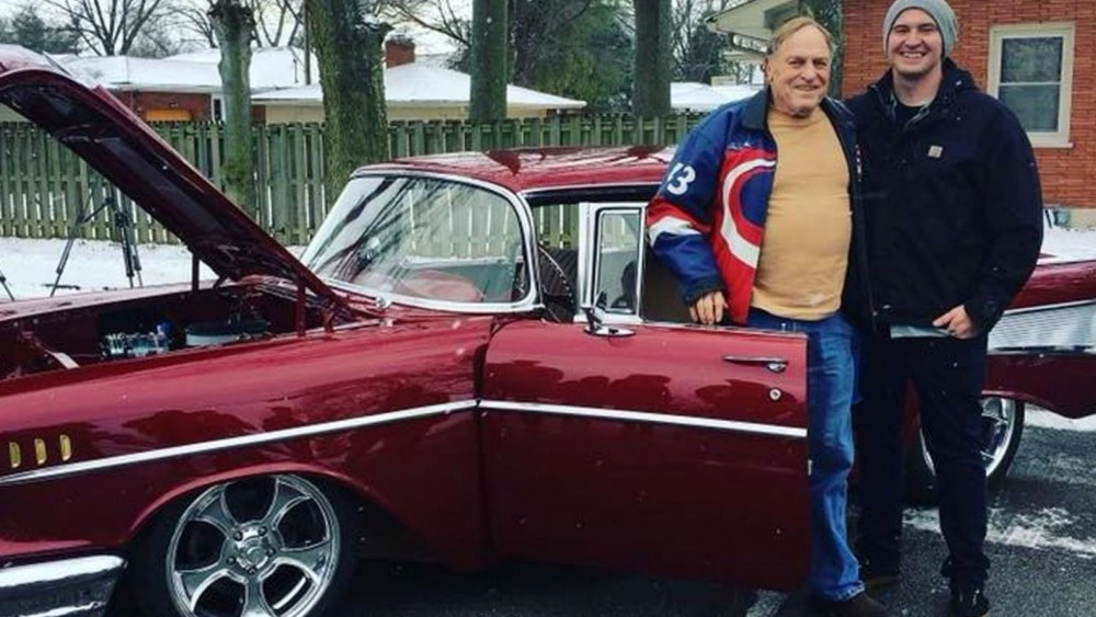 Grandson Sells Car To Help Restore Grandfather's 1957 Chevy Bel Air For 81st Birthday