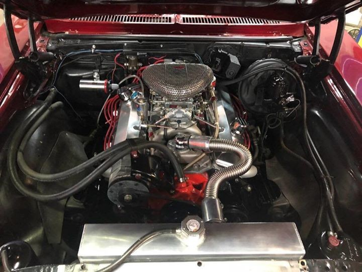 1972 Chevorlet Nova Engine