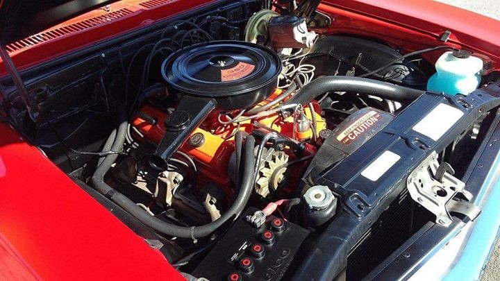 1971 Chevorlet Nova Engine