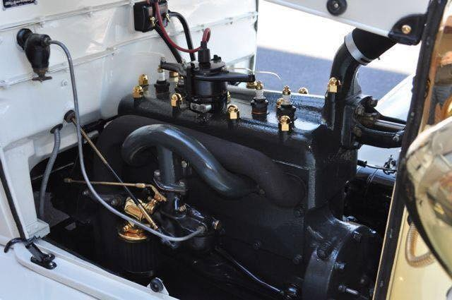 1928 Ford Model A Engine
