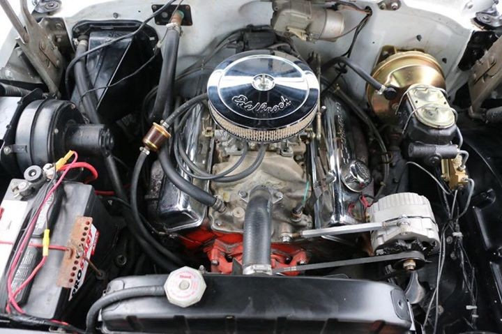 1957 Chevrolet Bel Air Convertible Engine