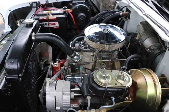 Chevrolet Bel Air Convertible Engine