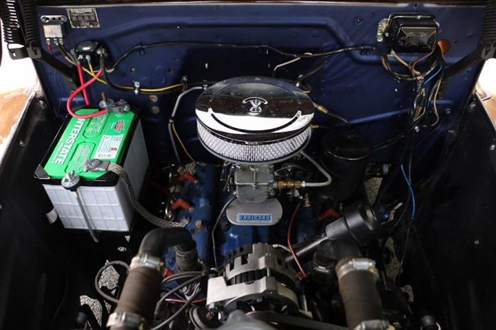 1951 Ford F1 Pickup Engine