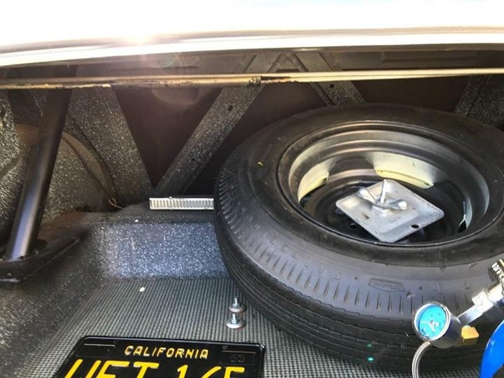 1967 Chevy ll Nova Spare Wheel