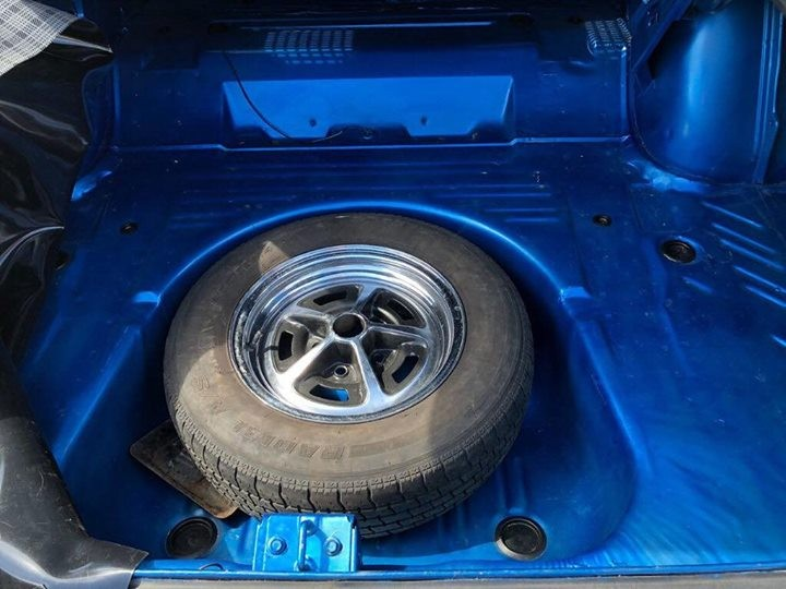 1967 Plymouth Satellite Spare Wheel