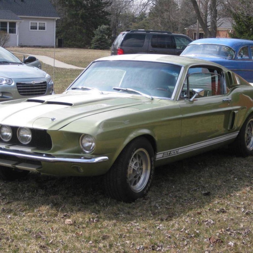 1967 Shelby GT500 Green : Shelby GT500 For Sale : The Motor