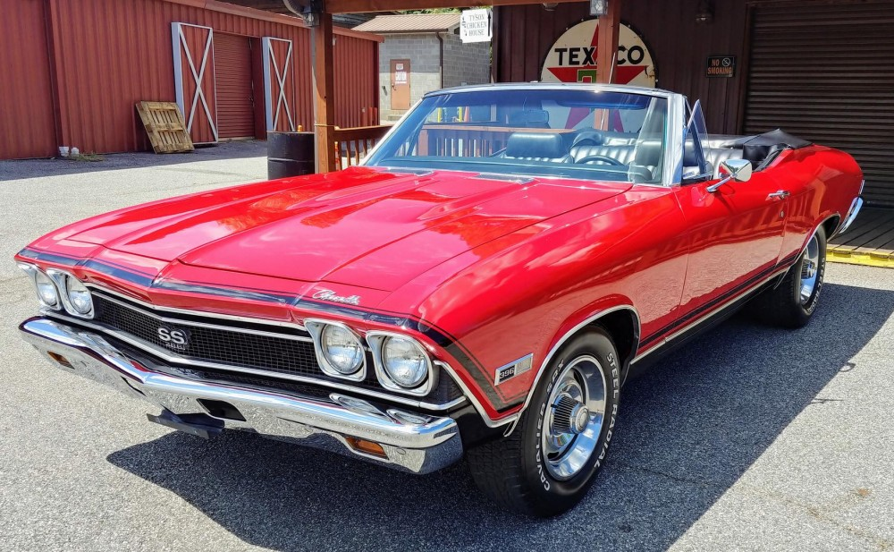 1968 Chevrolet Chevelle Ss 396 Convertible For Sale The