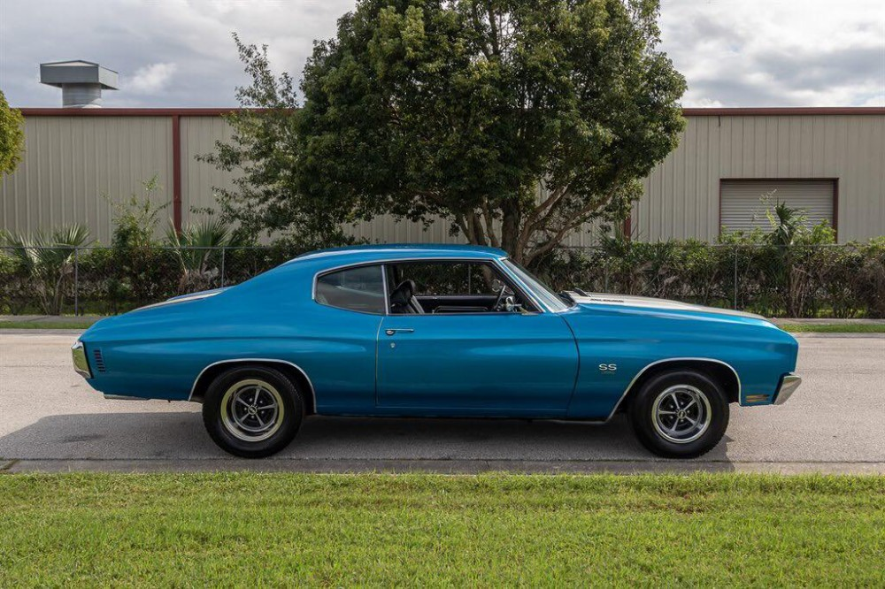 1970 Chevrolet Chevelle SS Lemans Blue : Muscle Cars For