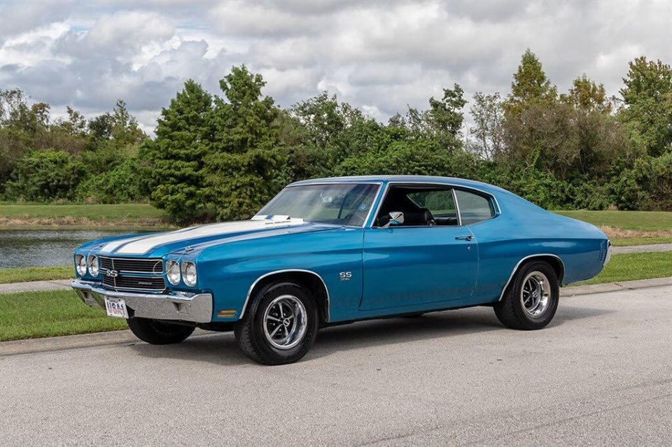 1970 Chevrolet Chevelle SS Lemans Blue : Muscle Cars For ...